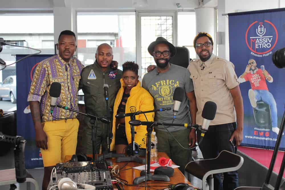 Lights, camera, action and foodie fun on the DJ Sbu Breakfast