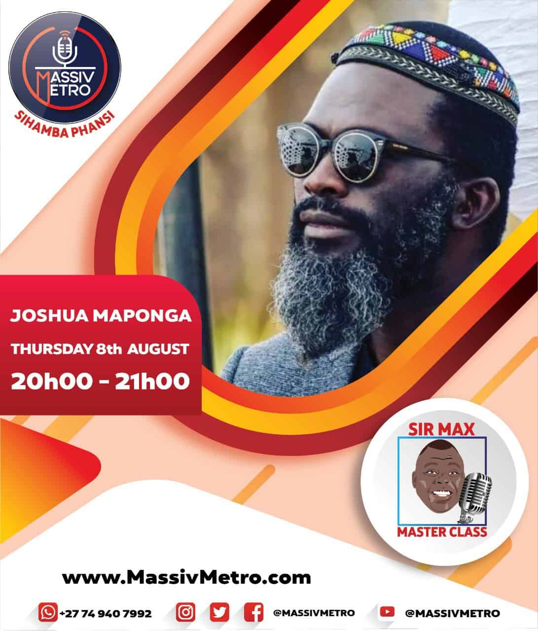 Maponga J joins Master Class (8 August 2019)