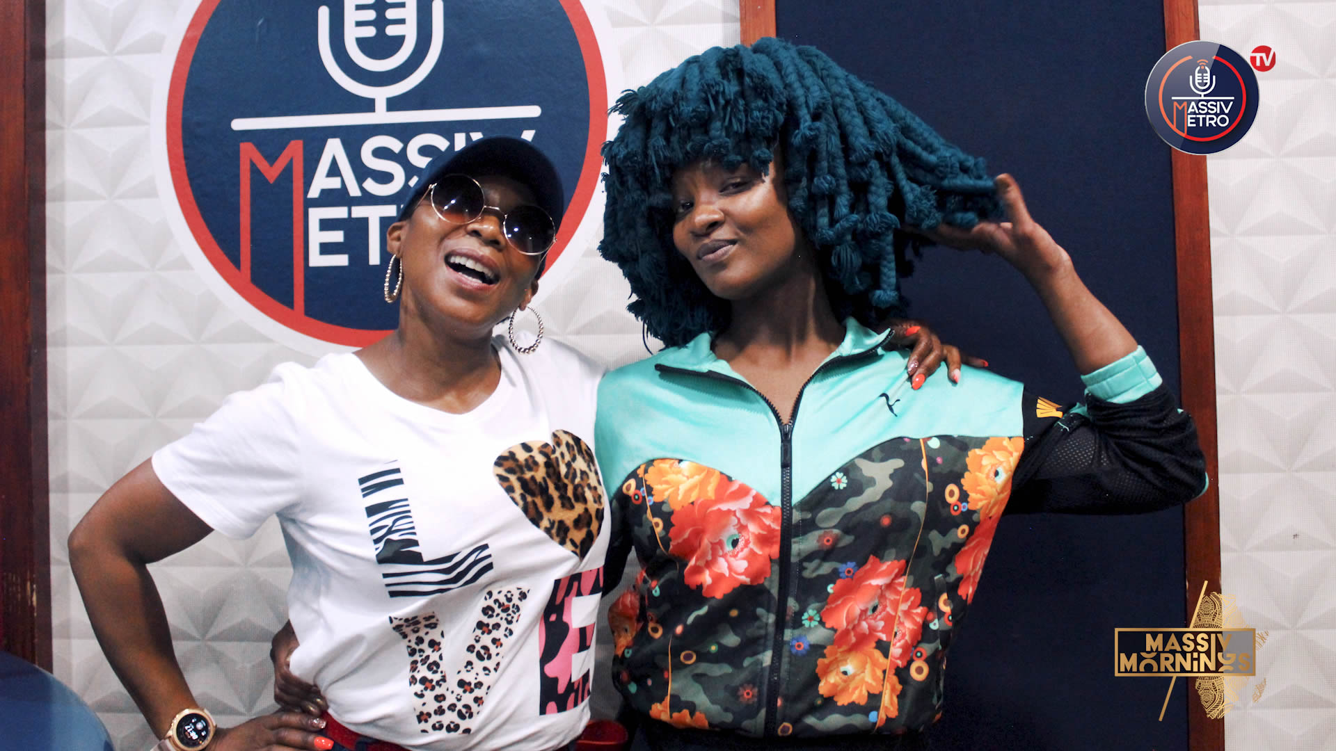 Moonchild Sanelly Hangs with Massiv Mornings and Drops an Exclusive Song